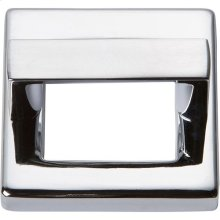 Tableau Square Base and Top 1 7/16 Inch - Polished Chrome