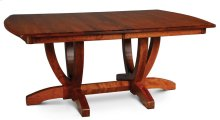 Brookfield Double Pedestal Table, 2 Leaf