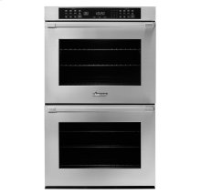 "27"" Heritage Double Wall Oven in Stainless Steel with Flush handle"