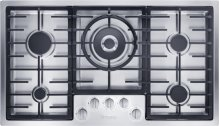 "36"" 5-Burner KM 2355 LP Gas Cooktop - KM2355 LP"