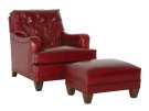 Classic Club Chair & Ottoman Product Image