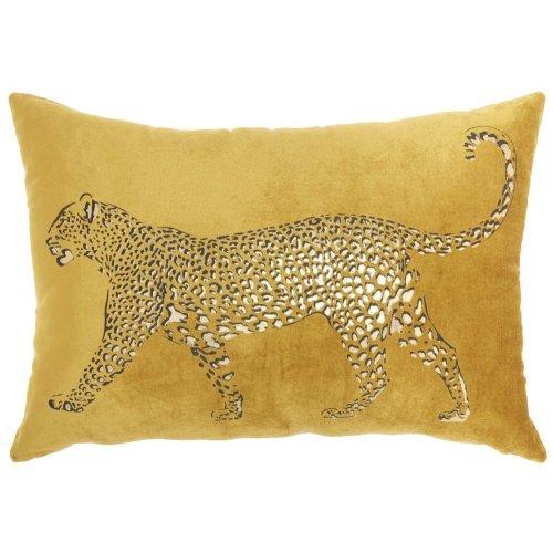 "Luminescence Ac203 Gold 14"" X 20"" Throw Pillow"