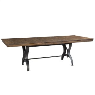 District Table Self-Storing Leaf