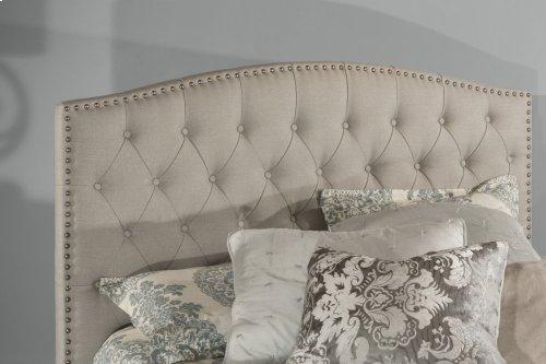Lila King Bed - Dove Gray