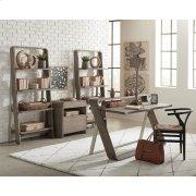 Waverly - Bookcase - Sandblasted Gray Finish Product Image