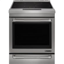 """Jenn-Air® 30"""" Induction Range, Pro-Style® Stainless Handle"""