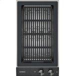 "Gaggenau200 series Vario 200 series electric grill Black control panel Width 12"""