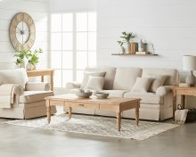 Heritage Living Room with Prairie Tables
