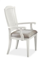 Rockport Dining Chairs With Arms - White - Set of 2