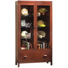 Display Cabinet with Drawer