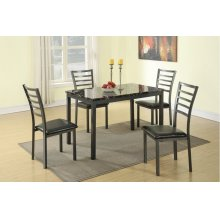 F2368 / Cat.19.p66- 5PCS TABLE+4CHAIR
