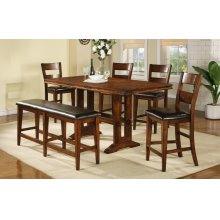 """78"""" Tall Table with 18"""" Leaf"""