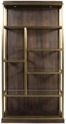 Luminary Bookcase Right Facing W589BR