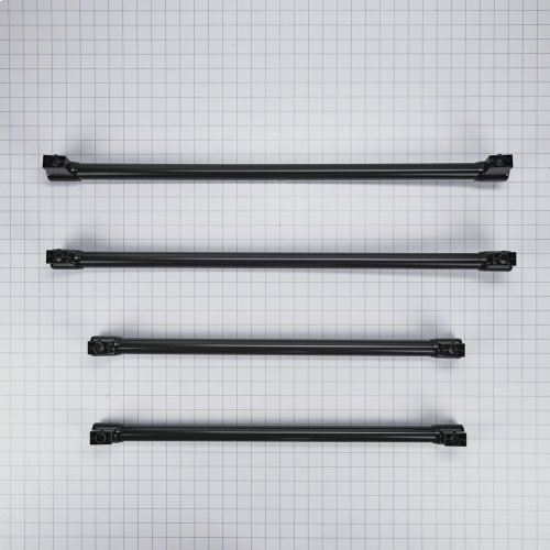 Handle Kit - Black, Four Door Contour