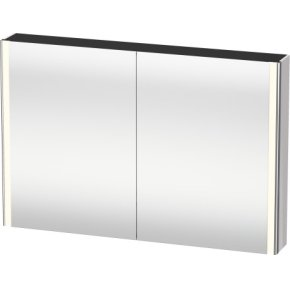 Mirror Cabinet, White Lilac High Gloss Lacquer