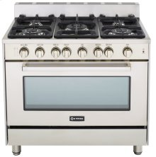 "36"" Gas Single Oven Range Stainless Steel 2"" B/G"