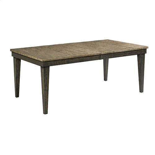 Plank Road Rankin Rectangular Leg Table