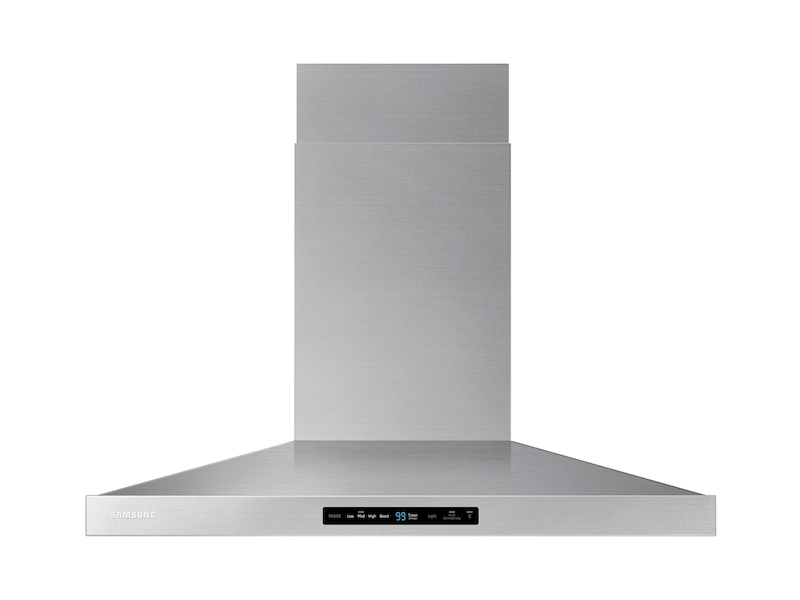 """Samsung36"""" Wall Mount Hood In Stainless Steel"""
