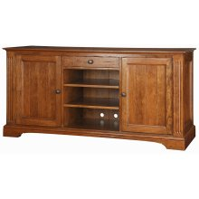Weston TV Console - Grooved