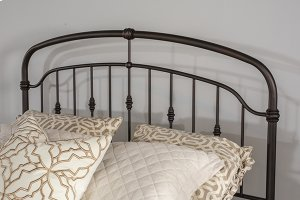 Pearson Queen Bed Set In Oiled Bronze Metal (bed Frame Not Included)