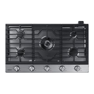 "Samsung Appliances36"" Gas Cooktop in Stainless Steel"