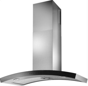 DUNE - WC35I90SB - Brushed Stainless Steel with Mirrored Black Glass
