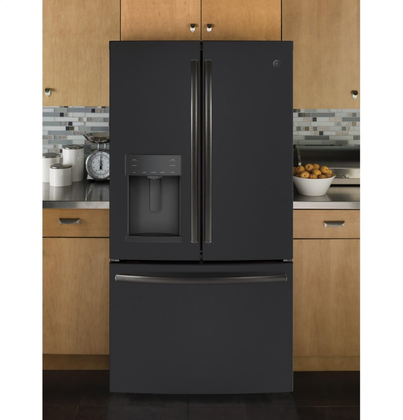 Ge 27 8 Cu Ft French Door Refrigerator With In