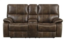 Emerald Home Jessie James Loveseat Chocolate Brown U7130-21-05