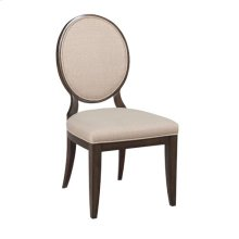 Grantham Hall Uph Side Chair W/Decorative Back-Kd