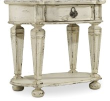 Sanctuary Oval Nightstand