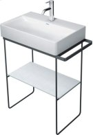 Chrome Durasquare Metal Console Floorstanding Product Image