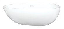 Tub Only/Soaker - Glossy Freestanding without Airbath