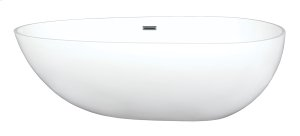 Tub Only/Soaker - Matte Freestanding without Airbath
