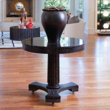 Classic Center Table-Black Cerused Oak