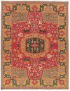 NOURMAK SK63 RED RECTANGLE RUG 5'10'' x 8'10''