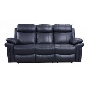 Leather Italia Usa E2117 Joplin Pwr R Sofa 1041lv Blue