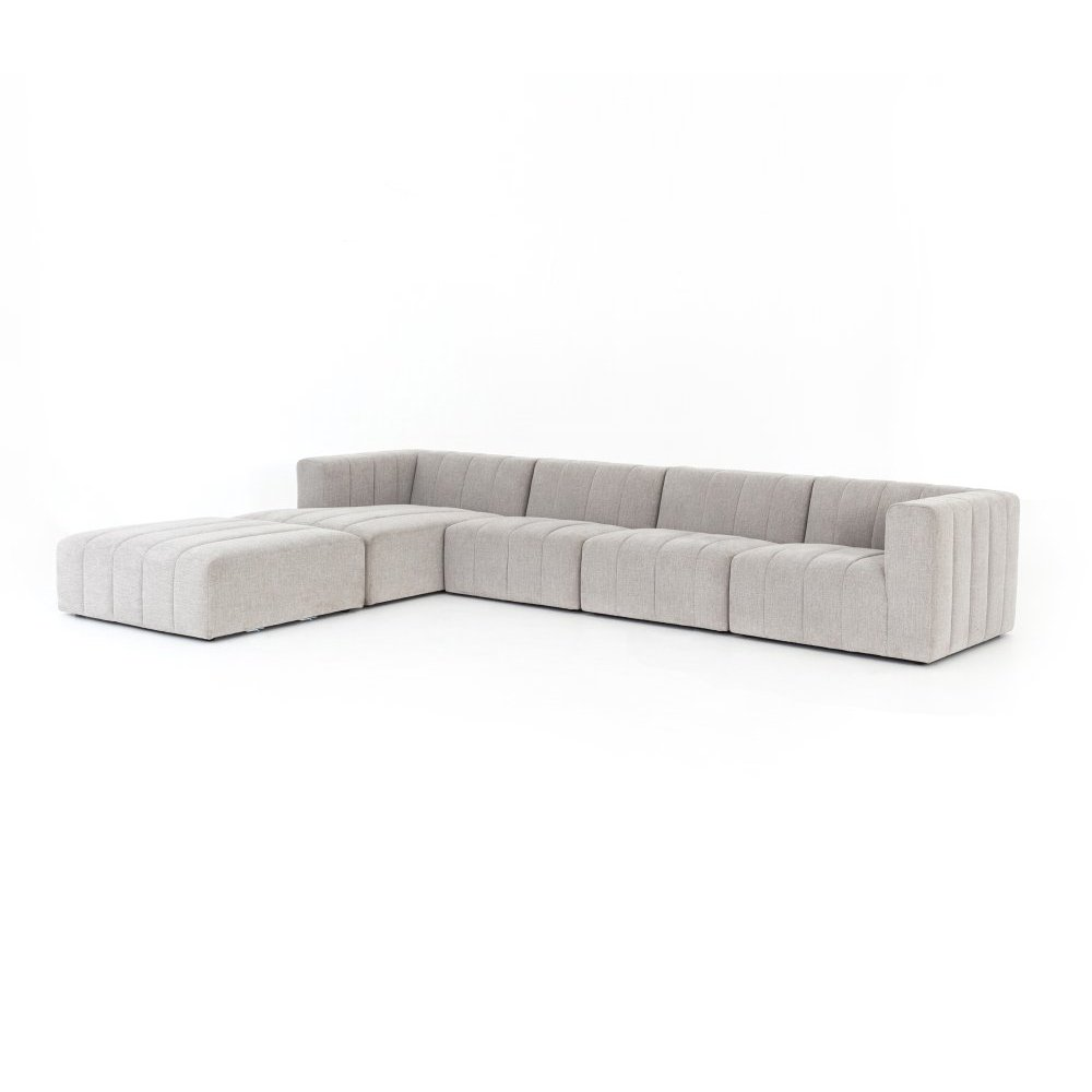 Langham Channelled 4-pc Laf Sectional W/
