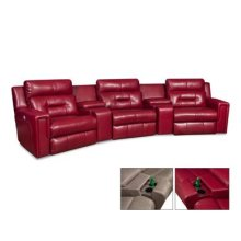 Excel 5PC Reclining Sectional
