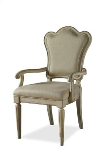 Provenance Upholstered Back Arm Chair - Linen