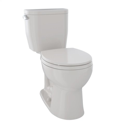 Entrada Close Coupled Round Toilet 1.28GPF - Sedona Beige