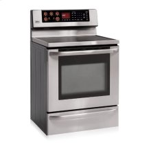 Freestanding Electric Range with Dual Convection System (Stainless Steel)