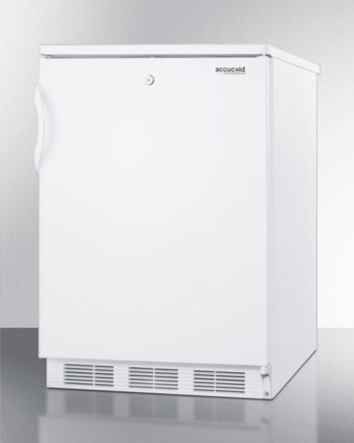 Built-in Undercounter All-refrigerator for General Purpose Use, With Front Lock, Automatic Defrost Operation and White Exterior