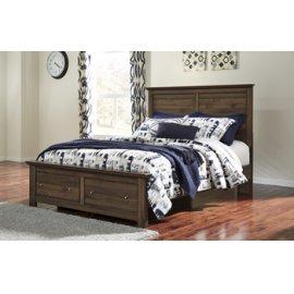 Burminson Platform Storage Bed Queen