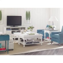Retreat-Sand Box Cocktail Table in Saltbox White