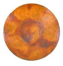 """60"""" Round Natural Copper Top"""