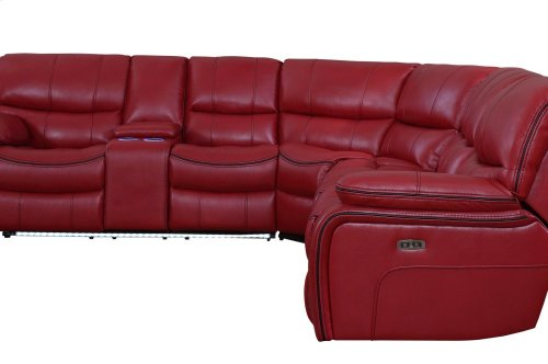POWER Right Side Reclining Love Seat with LED