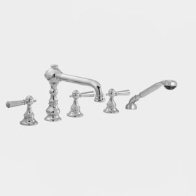2700 Series Roman Tub Set with Diverter Handshower with Tremont Handle (available as trim only P/N: 1.276193T)