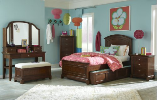 Impressions Panel Bed Twin