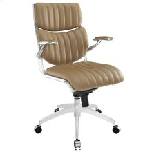 Escape Mid Back Office Chair in Tan