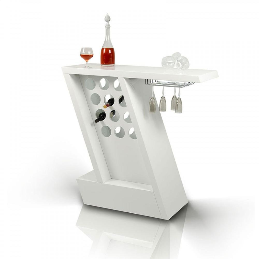 Modrest Zin - Modern White Mini-Bar Unit